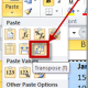 MICROSOFT OFFICE EXCEL 2010 (PASTE SPECIAL TRANSPOSE)