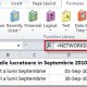 Numar zile lucratoare in Septembrie 2010 (Microsoft Office Excel 2010, 2007 – FUNCTIA NETWORKDAYS)