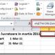 Numar zile lucratoare in Martie 2011 (Microsoft Office Excel 2010, Excel 2007 ; FUNCTIA NETWORKDAYS)
