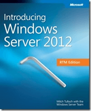 Intro Windows Server 2012