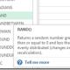 Cum aleg random un numar sau o valoare dintr-un tabel?