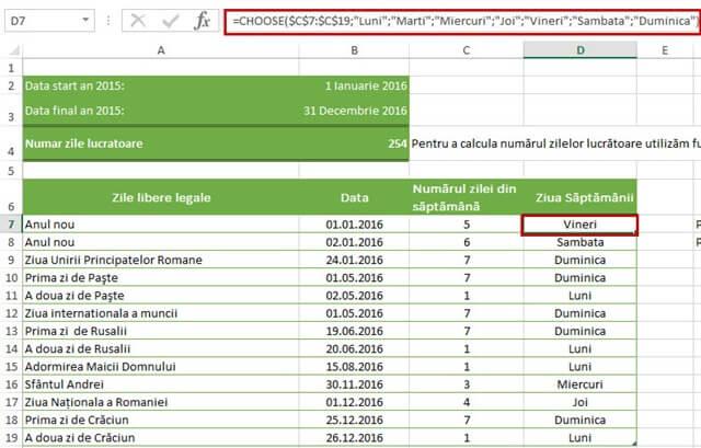 """Calendar Zile Lucratoare : Search results for """"numar de zile lucratoare in"""