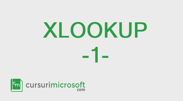xlookup_functia